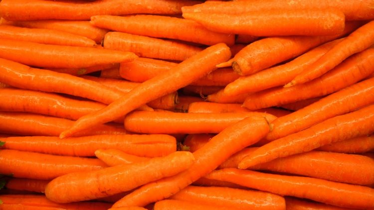I need to start eating more carrots, I think